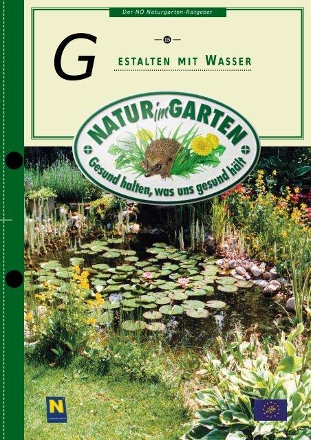 15 Gestalten mit Wasser - Natur im Garten