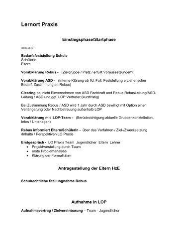 Ablauf LOP (pdf) - Schulbezogenes Netzwerk