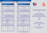 Cholesterinkonsensus - the AAS - Austrian Atherosclerosis Society