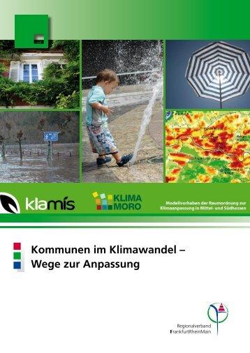 Kommunen im Klimawandel – Wege zur Anpassung