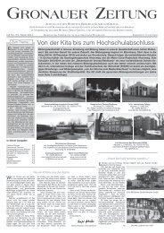 Gronauer ZeitunG - Katholische Kirchengemeinde St. Laurentius in ...