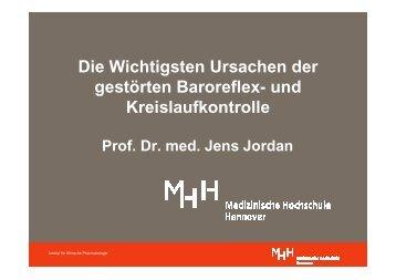 Die Wichtigsten Ursachen der gestörten Baroreflex- und ...