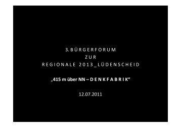 Vortrag der Stadtverwaltung zum Herunterladen - Stadt Lüdenscheid