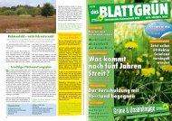 Blattgrün - grüne pinneberg