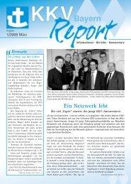 Ausgabe 1/2008 - KKV Bayern