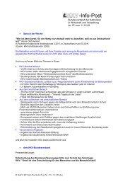 -Info-Post - KKV Bundesverband