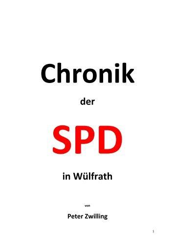 Chronik der SPD Wülfrath