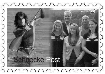 Schnecke Post