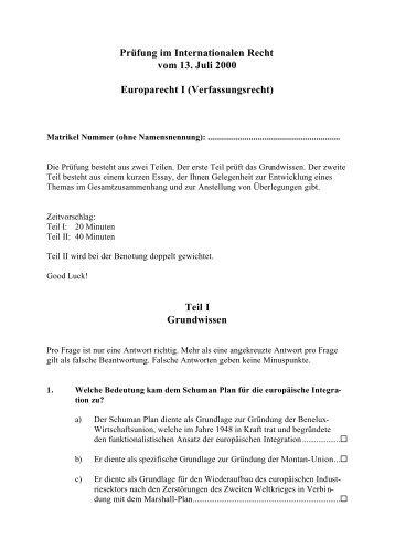 Verfassungsrecht - Weblaw