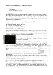 QUANTITATIVES XPS – 7124:11 A 1. Einleitung 2. Das Programm 3 ...