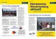 Ebergassing- Wienerherberg - Ebergassing - Volkspartei ...