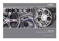 Wheels Preislist 2013.indd - MEC DESIGN