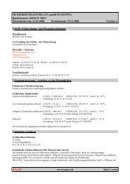 Sicherheitsdatenblatt F 026 ( Flux Gold ) - ISO Schweisstechnik AG