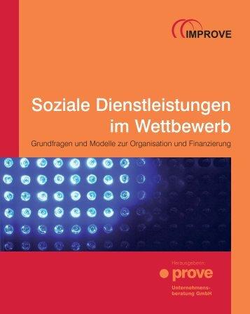 Soziale Dienstleistungen im Wettbewerb - infodienst ...