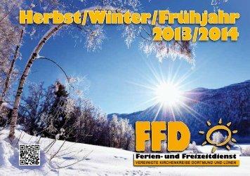 Herbst / Winter / Frühjahr 2013 /2014 - fachbereichbildung.de