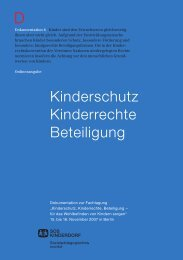 Kinderschutz, Kinderrechte, Beteiligung - BITV-Test