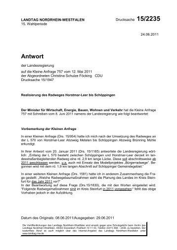 Download als PDF-Dokument mit Antwort - Christina Schulze ...