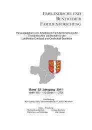 Gesamtregister - Arbeitskreis Familienforschung der Emsländischen ...