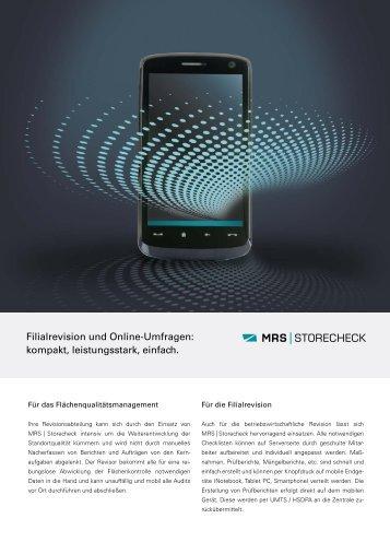 MRS | Storecheck - Siller AG