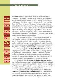 Bulletin 71 deutsch - Stiftung Schweizerische Schule für ...