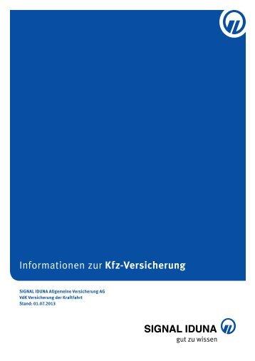Informationen zur Kfz-Versicherung - Signal Iduna