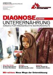 diagnose 04/09 - Ärzte ohne Grenzen