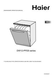 How to remove the top of your dishwasher