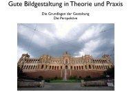 Gute Bildgestaltung in Theorie und Praxis - lepen.de