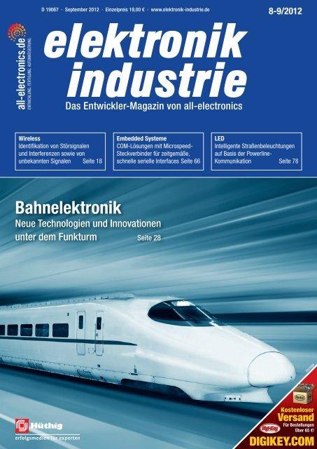 PDF-Ausgabe herunterladen (44.1 MB) - elektronik industrie