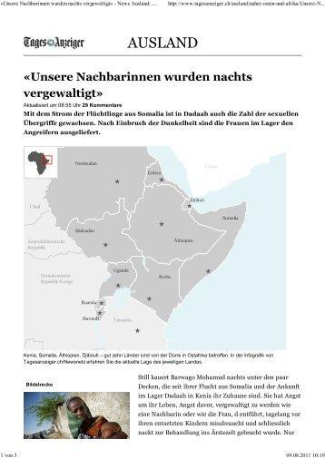 (\253Unsere Nachbarinnen wurden nachts vergewaltigt\273 - News ...