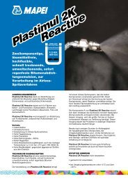 Plastimul 2K Reactive Plastimul 2K Reactive - Mapei