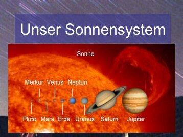 Unser Sonnensystem - Index of