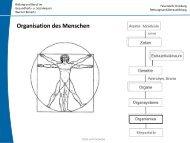 Organisation des Menschen - Bildung und Beratung für Gesundheits ...
