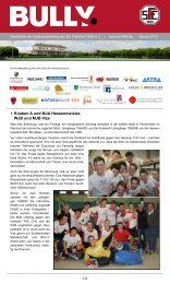 Bully Newsletter Januar 2013 - zum SC Frankfurt 1880