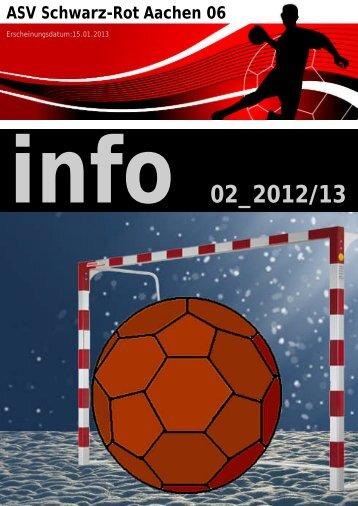 Infoheft 01_2012/2013 - Schwarz-Rot
