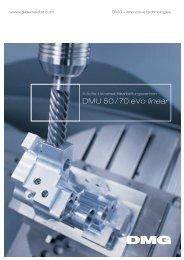 DMU 50 / 70 eVo linear