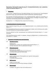 Besondere Kennzeichnungsordnung für Verbandsfunktionäre des ...