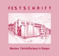 F E S  T  S  C  H  R  I  F  T    - Christofferhaus Siegen