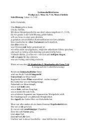 2. Mose 32, 7-14 - Leidenschaflich beten - Therapie Supervision ...