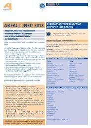 ABFALL-INFO 2013 - Gemeinde Grub