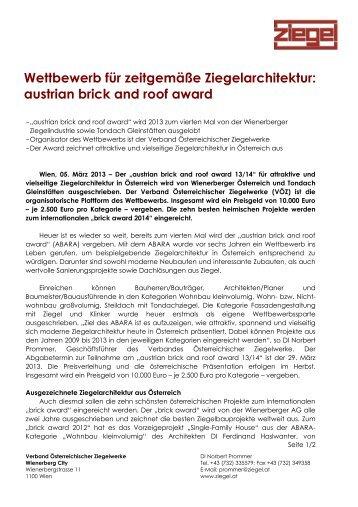 Marktpositionen und Geschäftsbereiche - Verband Österreichischer ...