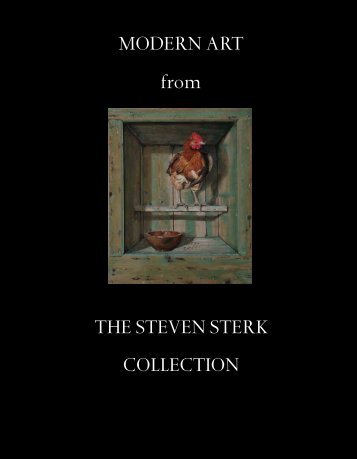 MODERN ART from THE STEVEN STERK COLLECTION - Adams ...