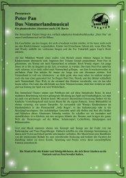 Pressetext Peter Pan 02-06-13 - Fliegende Bauten