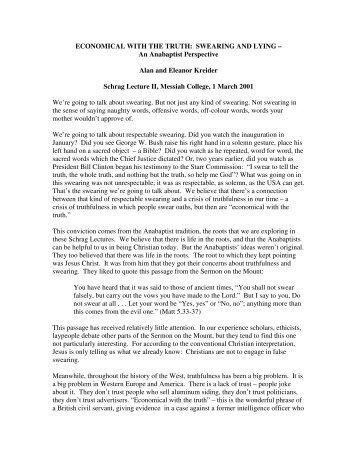 essays on biblical interpretation anabaptist-mennonite perspectives The following essays were among  from mennonite perspectives  (herald press, 1983) editor of 'essays on biblical interpretation: anabaptist mennonite .