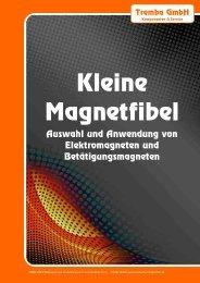 Auswahl und Anwendung von Elektromagneten ... - Tremba GmbH