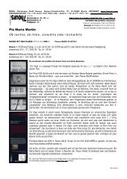 Pia Maria Martin Ob rechts, ob links, vorwärts oder rückwärts - 7hours