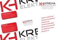 Flyer - KREHA Elektro AG
