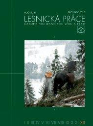 Lesnická práce 12/2010 ke stažení (pdf, 13 - Silvarium