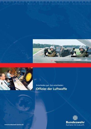 Broschüre Offizier der Luftwaffe