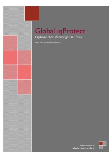 Global iqProtect - iqCapital Management GmbH